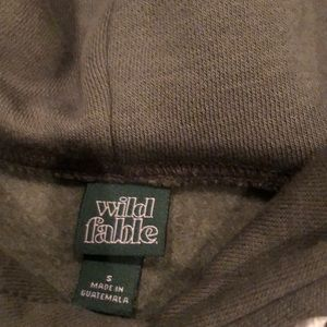 wild fable Tops - Size small hunter green hoodie